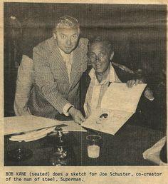 Joe Shuster and Bob Kane