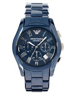 Emporio Armani Chronograph Ceramic Watch AR1469