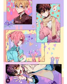 Jibaku Shounen Hanako-kun x [Reader] - Headcannons Anime Manga, Anime Guys, Anime Art, Animes Wallpapers, Anime Kawaii, Anime Shows, Aesthetic Anime, Cute Drawings, Anime Characters