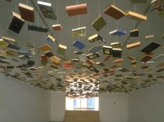 Book ceiling by Richard Wentworth