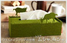 【楽天市場】Tissue Case -MushaMusha- ティッシュケース【楽ギフ_包装】【楽ギフ_のし宛書】:アンジェ(インテリア雑貨)