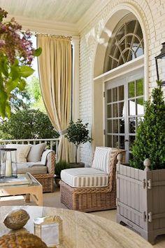 The Designer's Muse: Pretty Porches