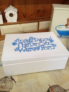 new baby memory box available to order from Revival also available in any other colour