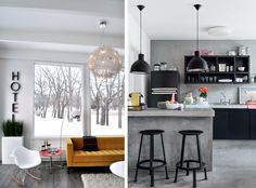 Check out my blog post to see Scandinavian design restyled with color! www.dawncookdesign.com