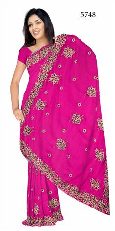 Shop SIXMETER #Casual Wear Pink Silk Saree at 99trendz.com. This is a perfect addition to every women's #Sarees Collection.