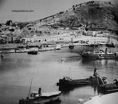 Puerto de Málaga 1890