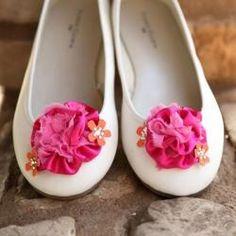Floral Bridal Flats