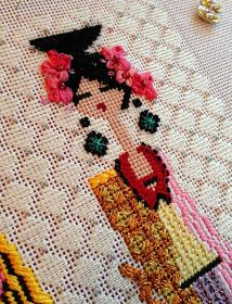 It's not your Grandmother's Needlepoint: Now the party can finally begin
