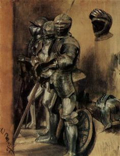 Some adolph Menzel drawings Adolf Von Menzel, Renaissance, Caspar David Friedrich, Baroque Art, Knight Armor, Medieval Armor, Chivalry, Knights Templar, Weird And Wonderful