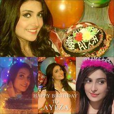 happy birthday aiza khan