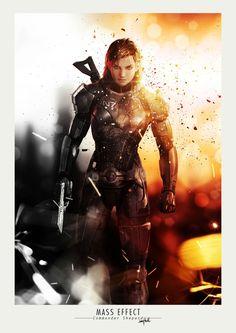 Commander Shepard, best hero ever!!!