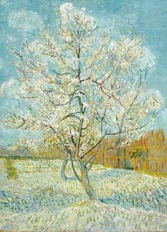 Vincent Van Gogh - The Pink Peach Tree 1888 fine art preproduction . Explore our collection of Vincent Van Gogh fine art prints, giclees, posters and hand crafted canvas products Art Van, Van Gogh Art, Van Gogh Pinturas, Vincent Van Gogh, Van Gogh Museum, Art Museum, Tree Canvas, Canvas Art, Canvas Prints