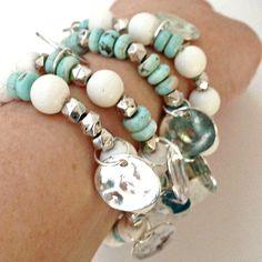 Image of Island White Bracelet