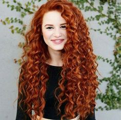 Who else loves this curly red hair  @madelame