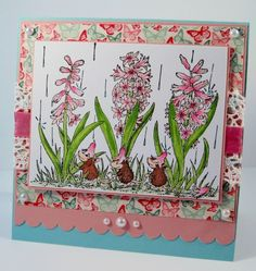 HMF#143 Rainy spring by Twinshappy - Cards and Paper Crafts at Splitcoaststampers