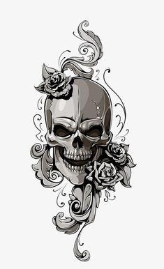 Halloween, Crâne Image PNG