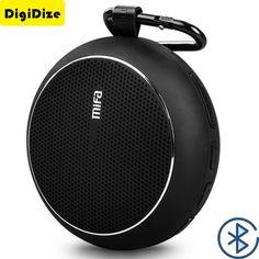Wireless Portable Bluetooth Speaker Waterproof Speakers with Powerful Driver Mic