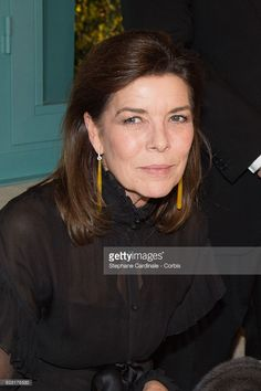Princess Caroline of Hanover attends the 'Chanel Collection des Metiers d'Art 2016/17 : Paris Cosmopolite' show at the Ritz Hotel on December 6, 2016 in Paris, France.