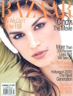 Bazaar July 1995 - Cindy Crawford
