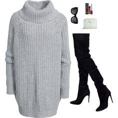 A fashion look from February 2016 by kennedydream featuring Hunkydory, Balmain, Goyard, Karen Walker, Guerlain, women's clothing, women, female, woman, misses a...