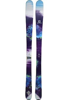 There are no limits on the Salomon Q-83 Myriad women's all-mountain skis!