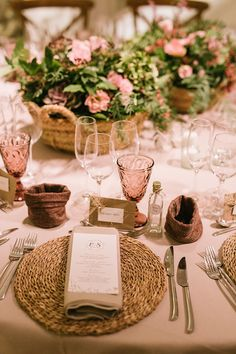 Elena and Sergi, a wedding in La Garriga de Castelladral - A wedding in the rain, bathed in ocher tones, and garnets. Pure nature framed by the Garriga de Cas - Floral Wedding, Diy Wedding, Dream Wedding, Wedding Day, Dessert Bar Wedding, Wedding Reception Tables, Wedding Valves, Wedding Table Layouts, Name Place Cards