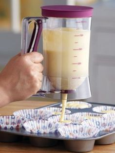 Cake Batter Dispenser With Measuring Label By Collections Etc:Amazon:Kitchen & Dining