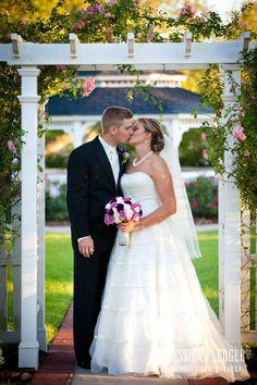 Gazebo Wedding at Ashelynn Manor