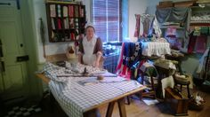 betsy ross house sewing room, philadelphia