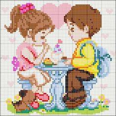 Product Name : Love Story 1 Product Code : C1-CH022Size : 32cm x 32cmPin Count : 80 x 80Price : RM230/- (inclusive of conversion sheet, eva board, complete set of pins)