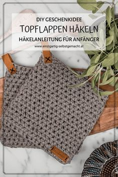 Diy Crochet Patterns, Crochet Diy, Crochet Patterns For Beginners, Knitting For Beginners, Crochet Gifts, Knitting Patterns, Diy Knitting Gifts, Crochet Stitches, Tricot Simple