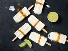 Chill out this summer with our favourite new treat - Key Lime Popsicles!