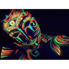 Body Paint Fluo