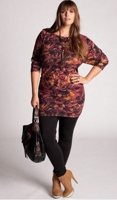 How to Wear: Plus Size Leggings