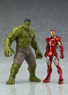 Figma anuncia action figure do Hulk! ~ Universo Marvel 616