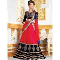 Alluring Multi Color Lehenga Choli