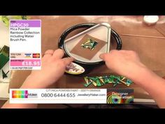 Liz Welch on Jewellery Maker TV 21/1/2014. Designer Inspiration show demonstrating making cuffs with Friendly Plastic.