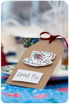 good idea only funky not cutesy, use as place settings?  or with take home party favors