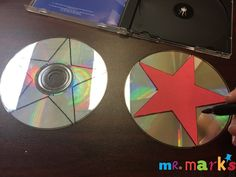 Make Stars Out of CDs! | Mr. Mark's Classroom
