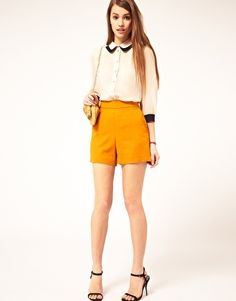 Enlarge ASOS Blouse With Double Collar
