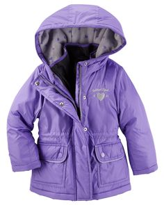 Kid Girl OshKosh 4-in-1 Jacket from OshKosh B'gosh. Shop clothing & accessories from a trusted name in kids, toddlers, and baby clothes.