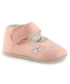 Another great find on #zulily! Pink Classic Flower Mary Jane #zulilyfinds