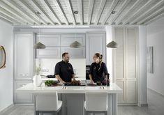Photos | KENSHŌ Luxury Hotel in Mykonos Mykonos Hotels, Luxury, Modern, Table, Furniture, Greece, Studio, Home Decor, Photos