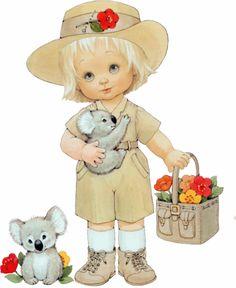 ❤️Artist Ruth Morehead ~ Kids around the world ~ Australia