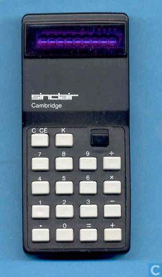 Rechenhilfsmittel - Sinclair - Sinclair Cambridge