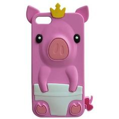 Amazon.com: FocusTM 3D Baby pink PIG Silicone Case Cover for Apple iPod Touch 5th Generation Xmas Gift: Cell Phones & Accessories