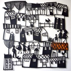 Large Square Papercuts – www.blastedglass.co.uk