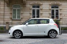 "automobilsport.com - Sondermodell Suzuki Swift ""Black and White"": Stadtflitzer in edlem Design"