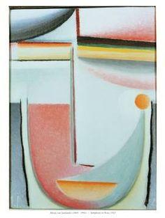 Alexej von Jawlensky - Symphony in Rose - Kunstdruck