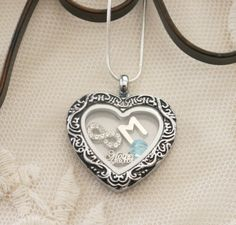 Mother of the Bride Necklace, Mother of Bride Heart Locket, Personalized Mother of Bride Gifts, Letter Birthstone, Infinity Heart Necklace